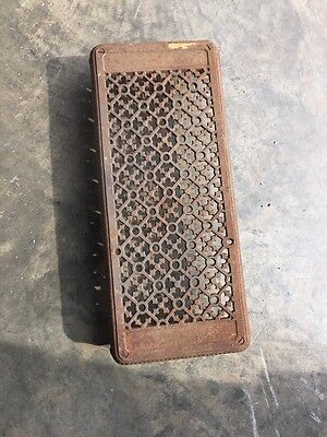 "Rt 11 Antique Cast-Iron Radiator Cover With Acorns 22"" X 9.5"""