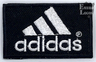 10236 Adidas Logo Embroided Iron On Patch - Badge 002