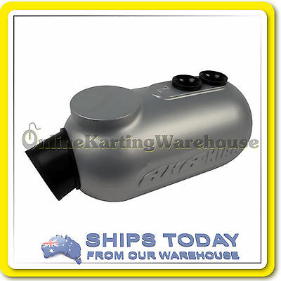 Go Kart Airbox Aka43 Ka Approved With Filter And Air Box Stainless Clamp ! New !