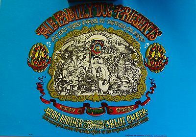 Rick Griffin | Big Brother & the Holding Co. - Orig. 1967 Family Dog Handbill