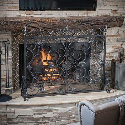 Best Selling Home Decor 295449 Wilmington Fireplace Screen