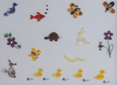 Lake City Craft Quilling Kit - Little Critters