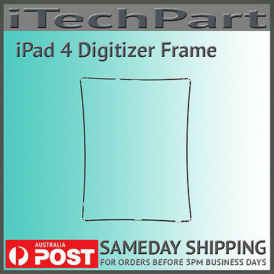 Black Touch Screen Digitizer Mid Frame Bezel Replacement Part For iPad 3 iPad 4