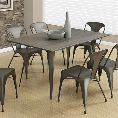 Monarch Specialties I 1080 Metal Dining Table
