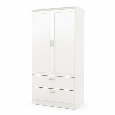 South Shore Furniture 5350038 Acapella Wardrobe Armoire