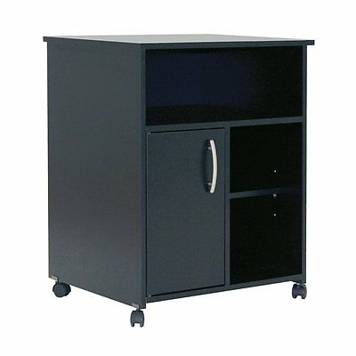 South Shore Furniture 7270B1 Fiesta Microwave Cart with Storage on Wheels