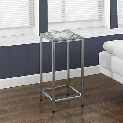 Monarch Specialties I 3145 Tile Top 28-in Plant Stand
