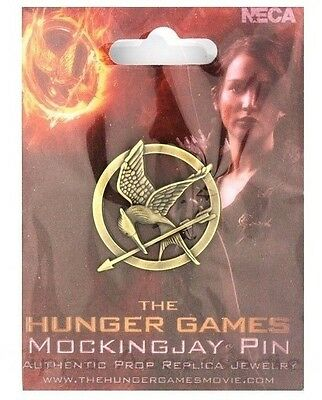 The Hunger Games Katniss Mockingjay Everdeen Pin Badge Brooch Bird Tribute Token