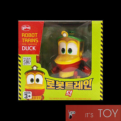 Robot Trains RT DUCK Transforming Transformers Figure Toy Korean Animation