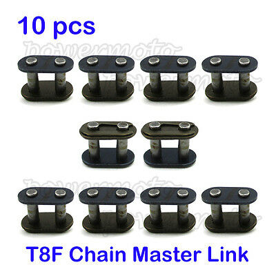 10x T8F Chain Master Link 8mm For 43cc 47cc 49cc Mini ATV Dirt Super Pocket Bike