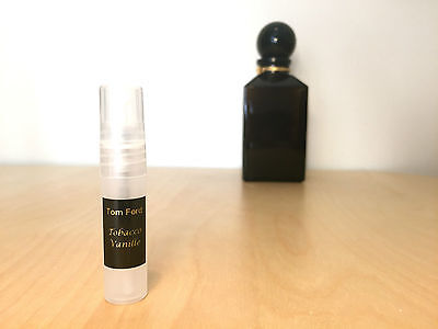 TOBACCO VANILLE Tom Ford - 5ml sample - 100% GENUINE!