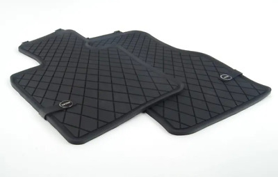 2 Pc Oem Mini Cooper F55 F56 F57 All Weather Floor Mats Mini Logo