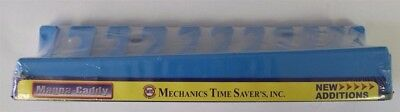 NEW Mechanics Time Saver's Inc. Magnetic 10 Piece Wrench Holder 680 Series