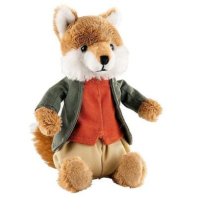 """NEW OFFICIAL GUND Beatrix Potter Mr Tod 4"""" Plush Soft Toy A27675"""