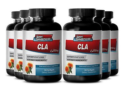 CLA Safflower Oil - CLA 1250mg - Reduces Food-Induced Allergic Reactions  6B