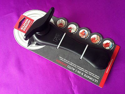 Kuhn Rikon Ultimate 5  IN 1 Auto Opener 22702 For Cans Bottles Tins