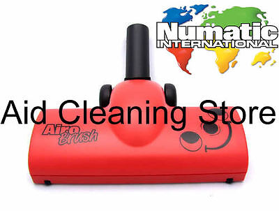 HENRY XTRA HVX200a Numatic Turbo Airo Brush Head Genuine Red Hoover Vacuum Tool