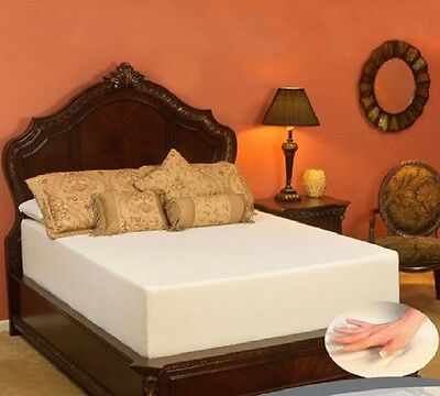 King Size Cool Gel Memory Foam Mattress 14-Inch Bed Bedroom Furniture Back Pain