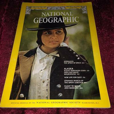 National Geographic Magazine June 1975 ANDALUSIA THE SPIRIT OF SPAIN