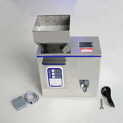 HI 2-100g Semi-Auto Granular Particle Subpackage Device Weighing Filling Machine