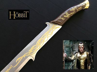 Lord of the Rings/The Hobbit Elrnold/Princess Arwen's Hadhafang Sword with Stand