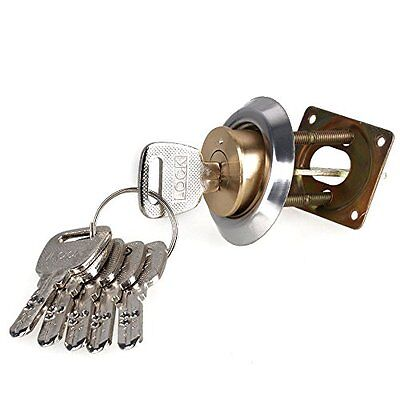 Brass Replacement Mortise Rim Cylinder Door Night Latch Lock Line - Shaped Night