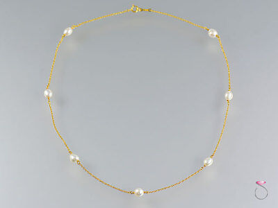 bfe0fba3b TIFFANY & CO. 18K Pearl Necklace, Pearls By The Yard by Elsa Peretti ...