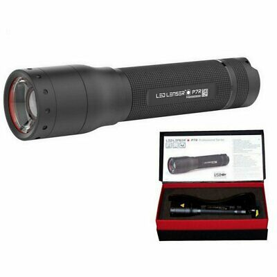LED Lenser NEW 2016 P7R 1000 Lumen Rechargeable Focusable Flashlight  AUST Agent