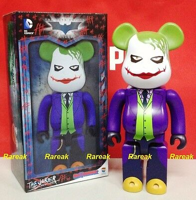 1b638d73ff32 Medicom Be rbrick DC Batman The Dark Knight 400% Joker Why So Serious  bearbrick