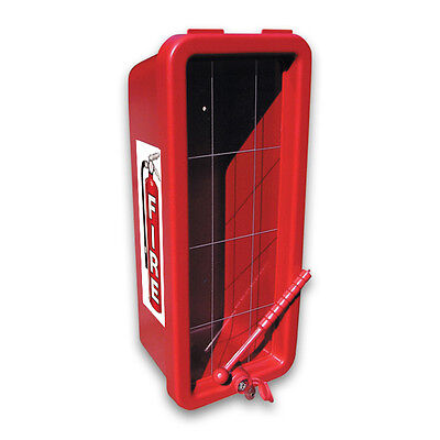Red CATO 105-20RRC-H Chief Fire Extinguisher Cabinet for 20lb Extinguisher