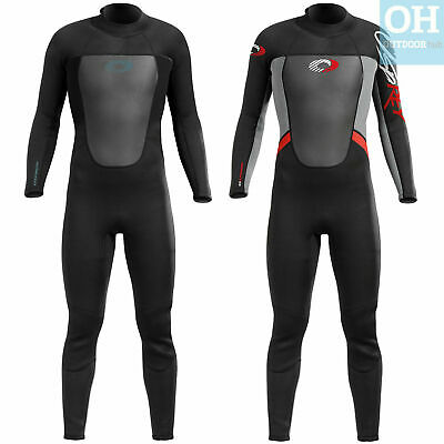 Osprey Mens Winter 5mm Wetsuit Full Length Steamer Surf Wet Suit Kayak All Sizes