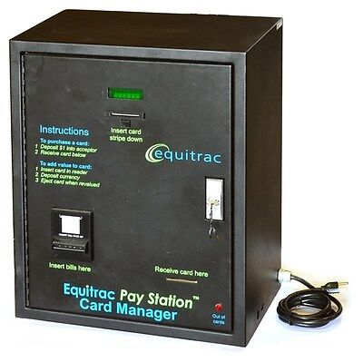 Equitrac Pay Station Card Manager