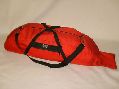 Baseball bag standard size holds 2 bats outside pocket Cordura Made in U.S.A.