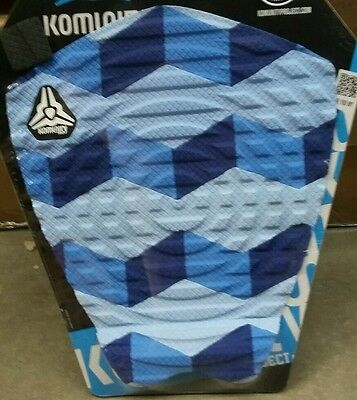 "Komunity Project surfboard traction pad tail 14"" Vasco Riberio  1 piece  No arch"