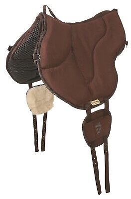 Barefoot Ride-on-Pad Physio braun - Bareback-Pad - top- Horse & Hound Celle