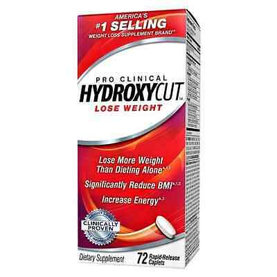 Hydroxycut Pro Clinical, America's #1 Selling Weight Loss Brand, 72 Caplets, Los