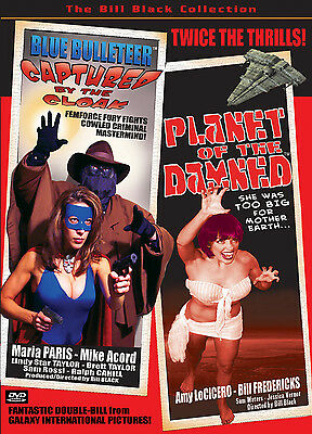 Blue Bulleteer: Captured By The Cloak & Planet Of The Damned Giantess Dvd