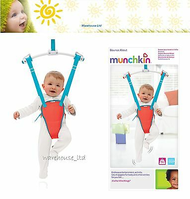 Munchkin Baby Door Bouncer Toddler Newborn Doorway Swing Jumper Safe Seat Gift