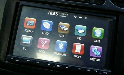 2017 Latest IGO Australia  2016 Q4 Map Car 2Din Radio GPS WinCE+SafetyCam+3D