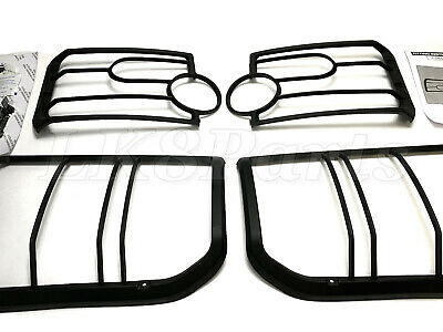 Land Rover  Lr3 / Discovery 3 Front & Rear Lamp Guard Vub501380 Vub501200 Set