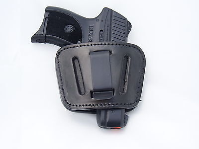 Leather Concealment Gun Holster - RUGER LC9, LC9s, LC380, EC9, EC9s (#1035 BLK)