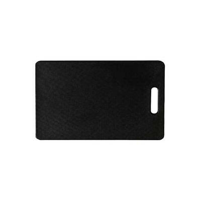 Cutting Chopping Board Polypropylene Black 200x270x10mm Bar Kitchen Cafe