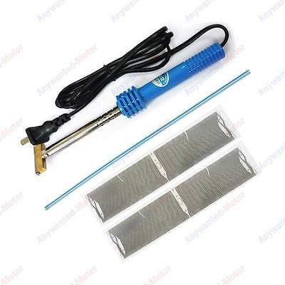 Mid Radio LCD Pixel Ribbon Cable + Electric T-iron For BMW E39 E53 X5 (Fits:BMW)