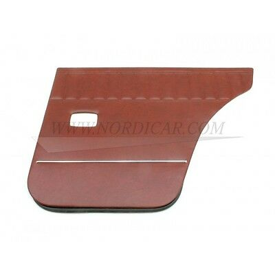 Volvo Amazon P120 P220 door panel red; left and right; rear - 691811 691812