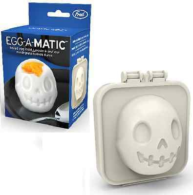 Fred Skull Egg-A-Matic Egg Press Shaped Boiled Mould Novelty Cooking Foodie GIFT