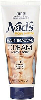 Nad's For Men Hair Removal Cream, Extra Strong & Fast Working - 200 Ml