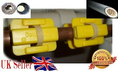 Magnetic Descaler Limescale Remover Water Conditioner Water SOFTENER x 2 pairs