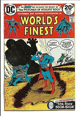 World's Finest # 219 (Oct 1973), Fn+