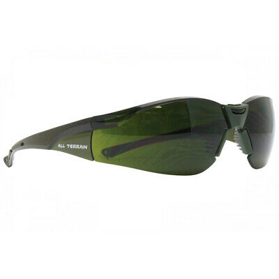 Safety Glasses - All Terrain - Shade 5  - Welding Glasses Goggles - Oxy 107W5