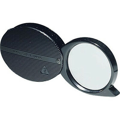 Bausch & Lomb 812354 Folded Pocket Magnifier, 4X, 36mm Dia., Black